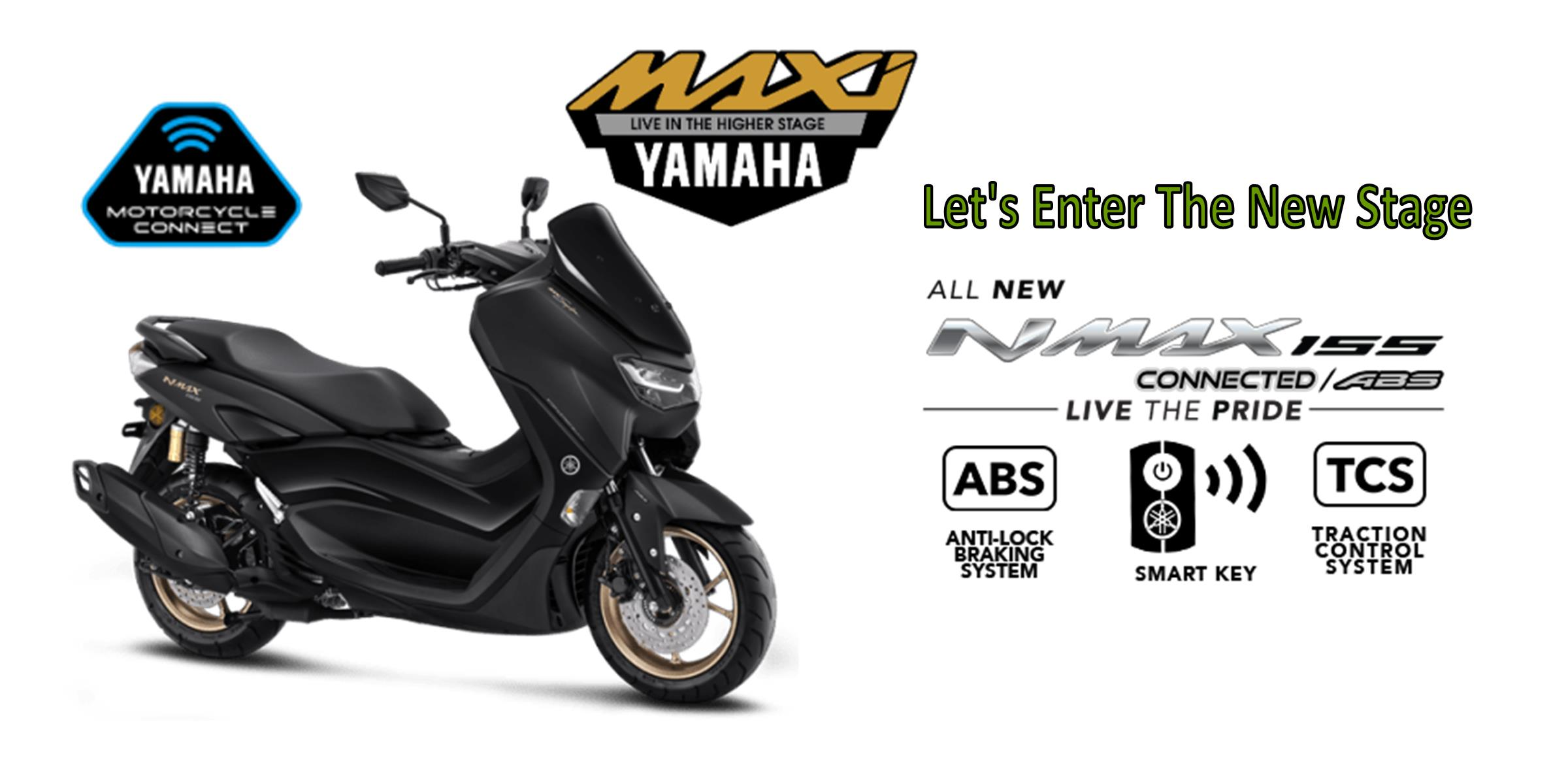 Promo All New Nmax ABS Connected