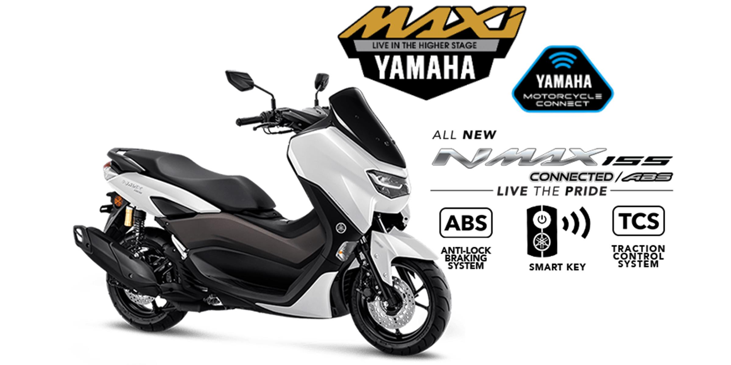 yamaha all new nmax abs connected